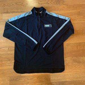 New Men's PUMA 1/4 Zip Pullover Jacket M, Lg